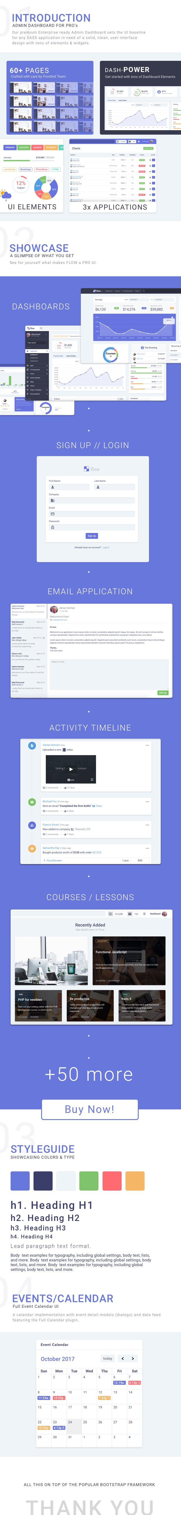 Flow Bootstrap 4 Admin